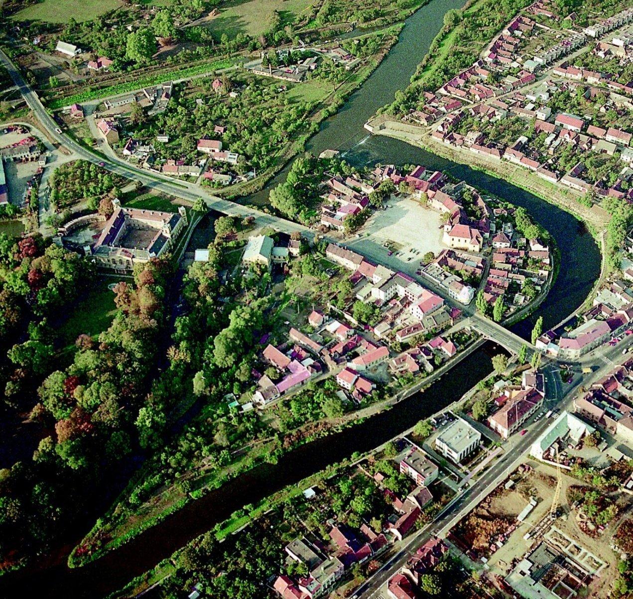 Nový článek - město Veselí a řeka
