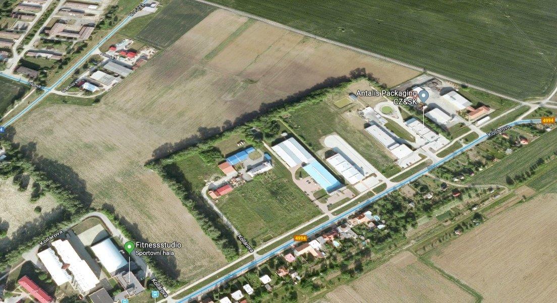 Průmyslová zóna ve Veselí nad Moravou