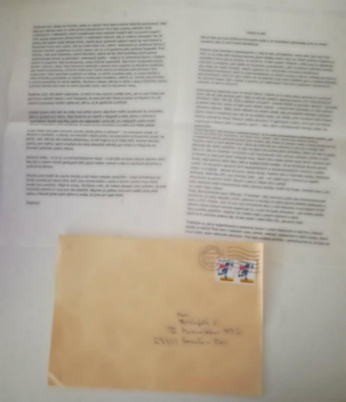 Staženo - Dopis Šišperovi - Brno
