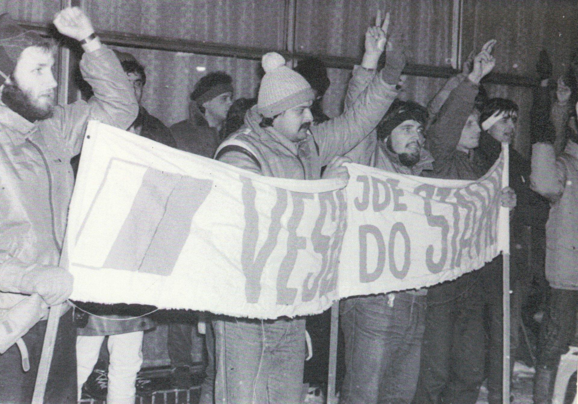 Události listopadu 1989 ve Veselí nad Moravou - dokumenty a fotografie