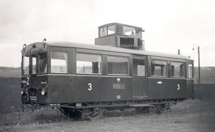 Veselská železnice za První republiky 2